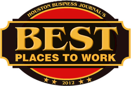 2013 Houston Business Journal's Best Places to Work